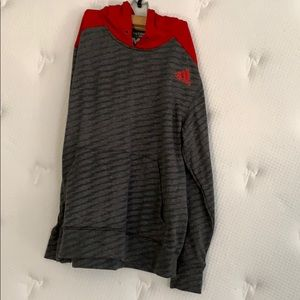 Adidas Hooded Sweatshirt Size M